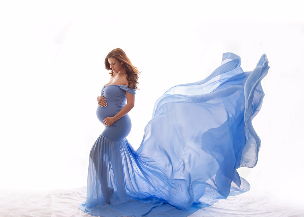 best maternity dresses half circle gown