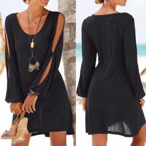 best summer dresses black