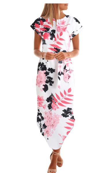 floral long dresses